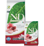 N&D Grain Free DOG Adult Mini Chicken&Pomegranate 7kg