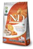 N&D Grain Free Dog Pumpkin Adult M/L Codfish & Orange 12kg