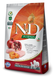 N&D Grain Free Dog Pumpkin Adult M/L Chicken & Pomegranate 12kg