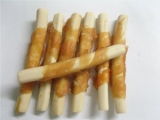 Magnum chicken roll on rawhide stich 250g