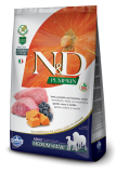 N&D Grain Free Dog Pumpkin Adult M/L Lamb & Blueberry 2,5kg
