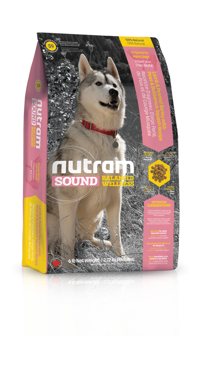 Nutram S9 Sound Adult Dog Lamb 2,72kg