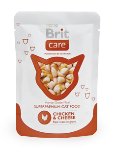 Brit Care Pouches Chicken & Chesse 80g