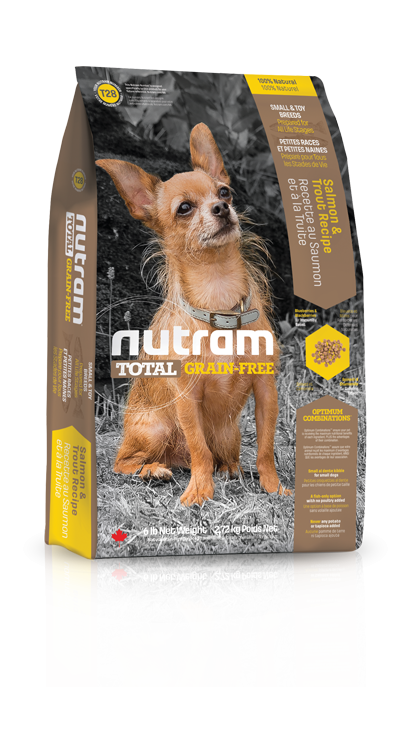Nutram T28 Total Grain Free Salmon Trout Dog Small Breed 2,72kg